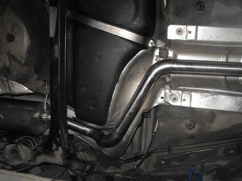 Seat Ibiza FR 1.9 TDI układ wydechowy