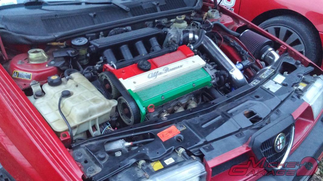 Alfa Romeo 155 turbo – 364KM 459Nm