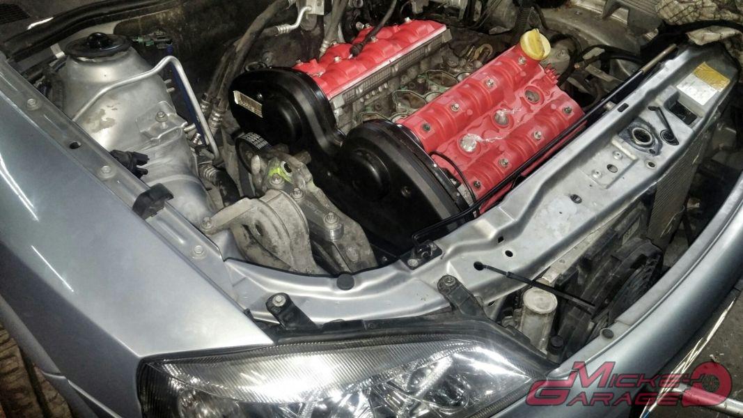 Astra G 2.0 – Swap na 3,2 V6