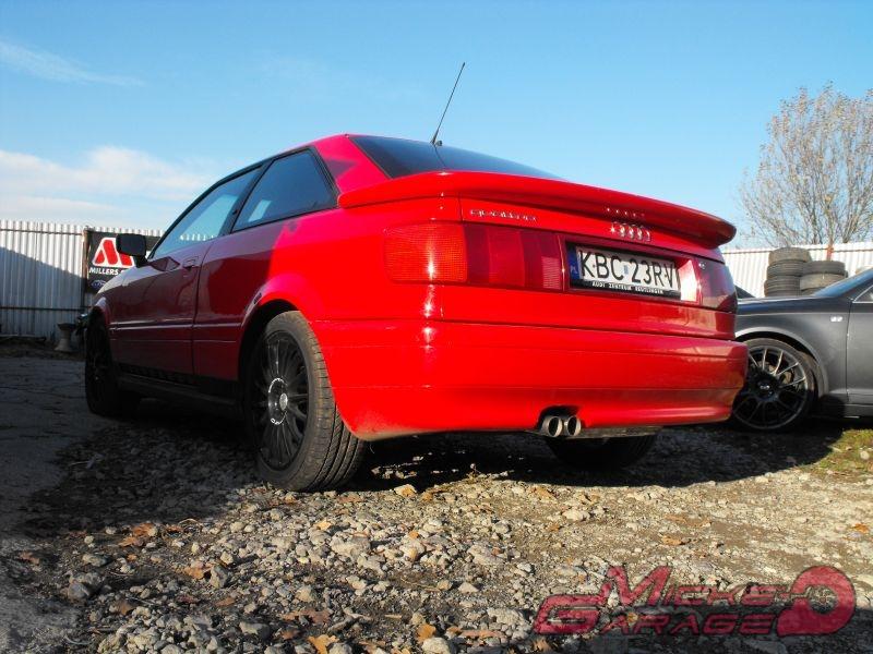 Audi 80 V6 Quattro – układ wydechowy
