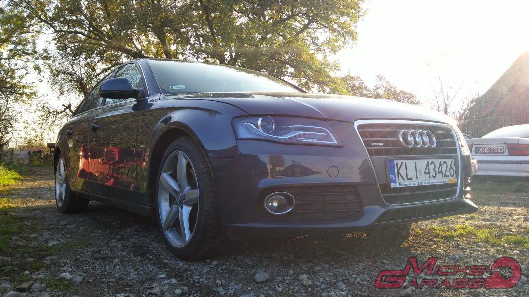 Audi A4 2.0 TFSI – układ wydechowy