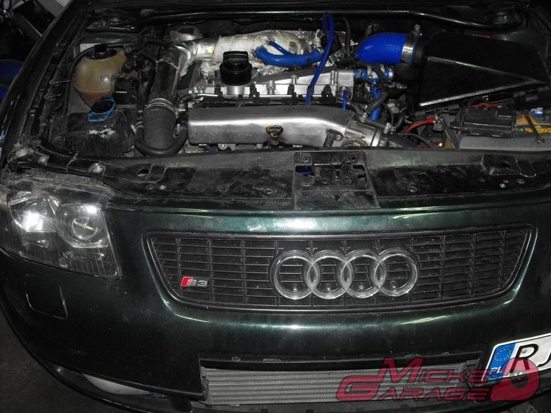 Audi S3 – układ wydechowy 3″