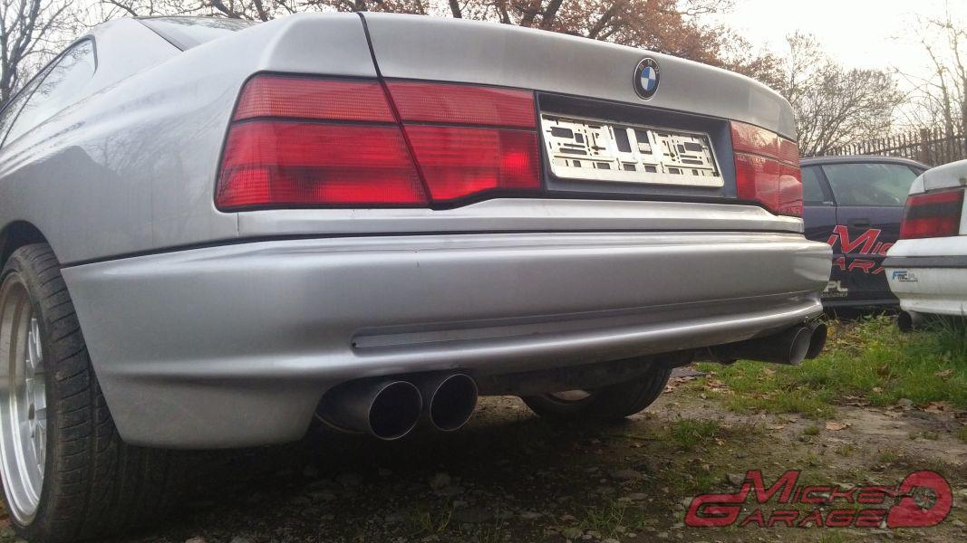 BMW 850 – Układ Wydechowy