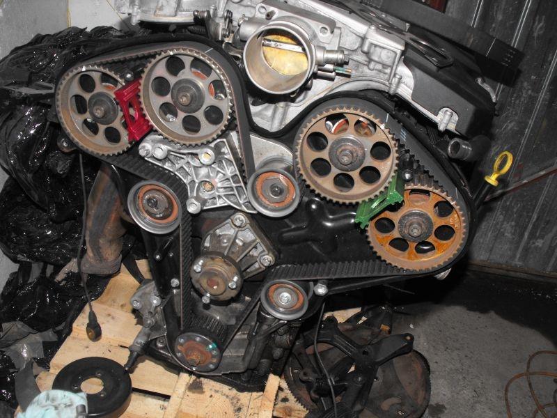 Opel Calibra 3.2 V6 Swap