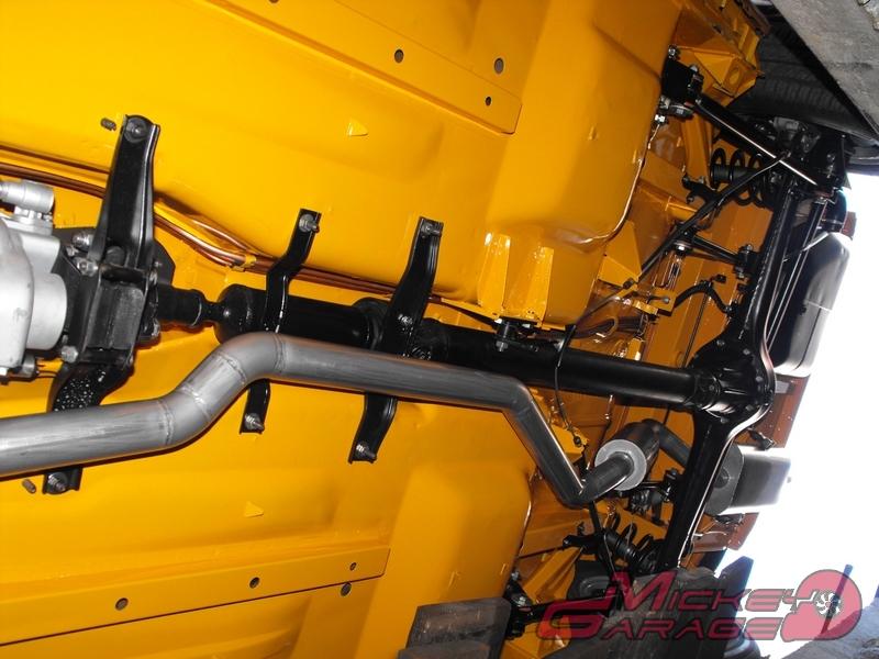 Fiat 124 Spider – układ wydechowy