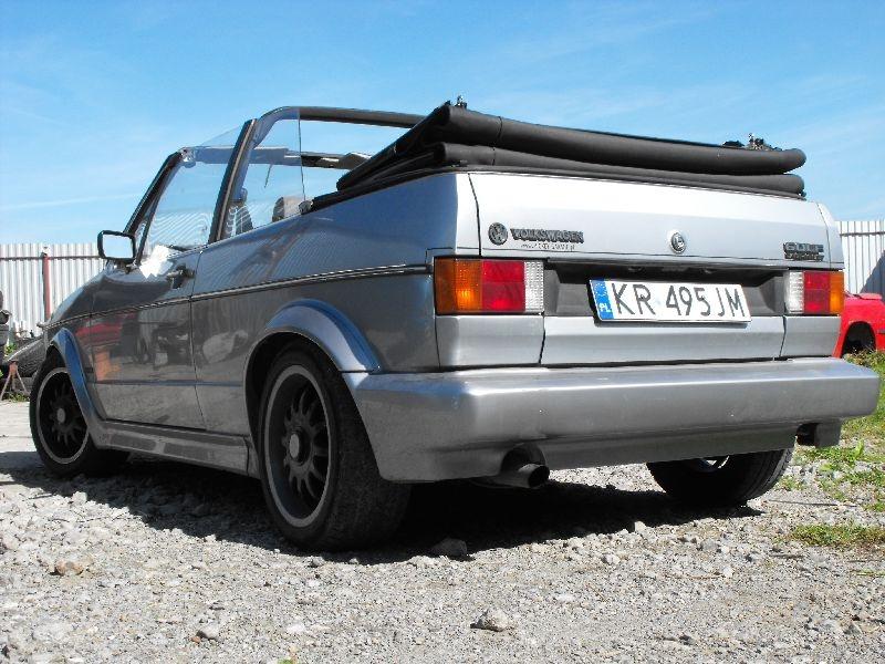 VW Golf mk1 cabrio -swap z 1.6 (EW) na 2.0 16V (9A)