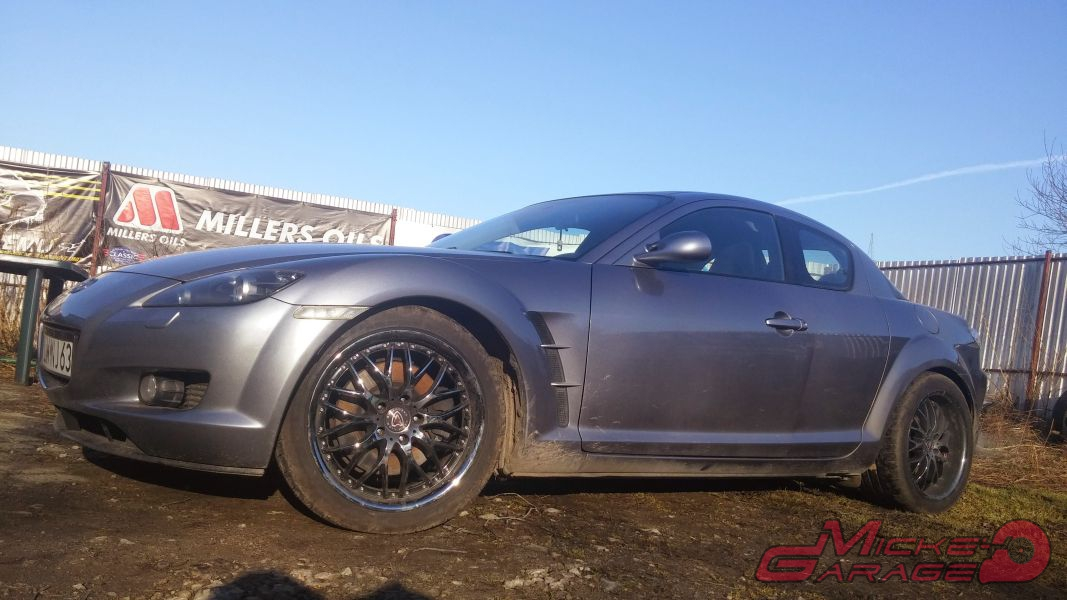Mazda RX-8 K20Turbo – 380KM 370Nm