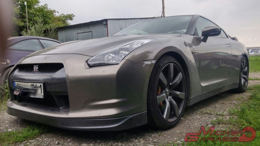 Nissan GTR R35 – Układ Wydechowy