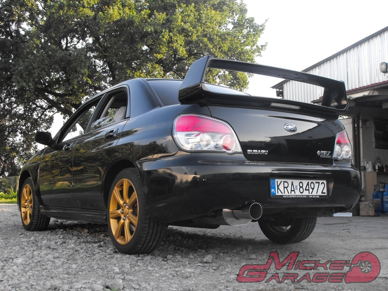Subaru Impreza WRX – 3″ układ wydechowy